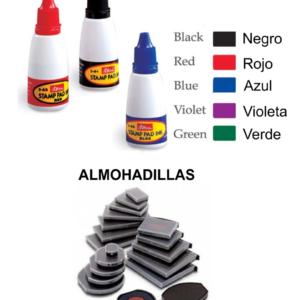 Tintas y Almohadillas